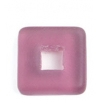 Glass Squares 12x12mm Amethyst Matt